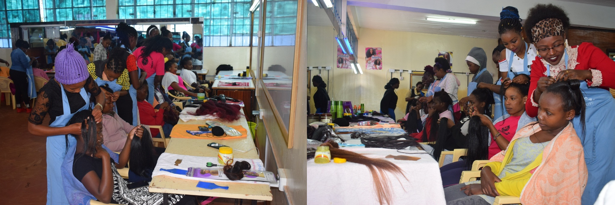 HAIR DRESSING AND BEAUTY CLASS